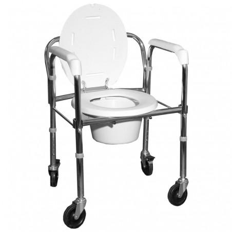 Κάθισμα τουαλέτα με ρόδες