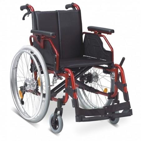 Αμαξίδιο αναπηρικό πτυσσόμενο αλουμινίου