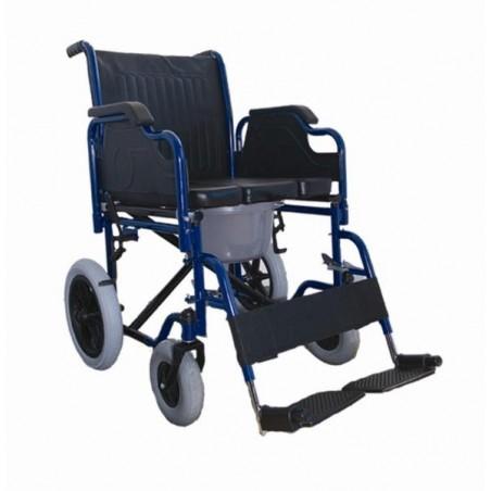 Αναπηρικό αμαξίδιο  μεταφοράς με δοχείο WC ol-42
