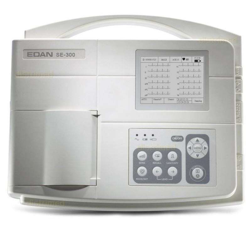 Τρικάναλος καρδιογράφος Edan SE - 300B ECG -Καρδιογράφοι - Dopplers - Μόνιτορ Παρακολούθησης