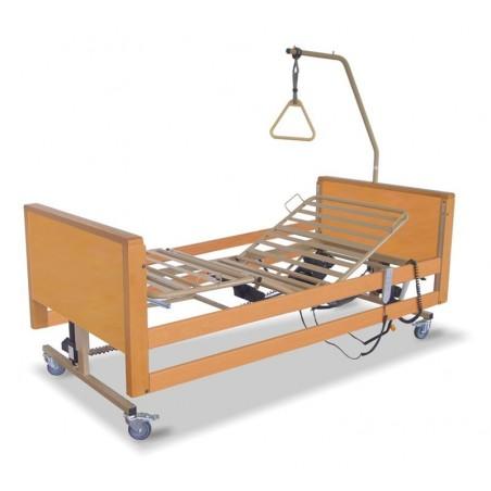 Ηλεκτρικό κρεβάτι νοσοκομειακό ξύλινο delux AC 505W -Ηλεκτρικά κρεβάτια