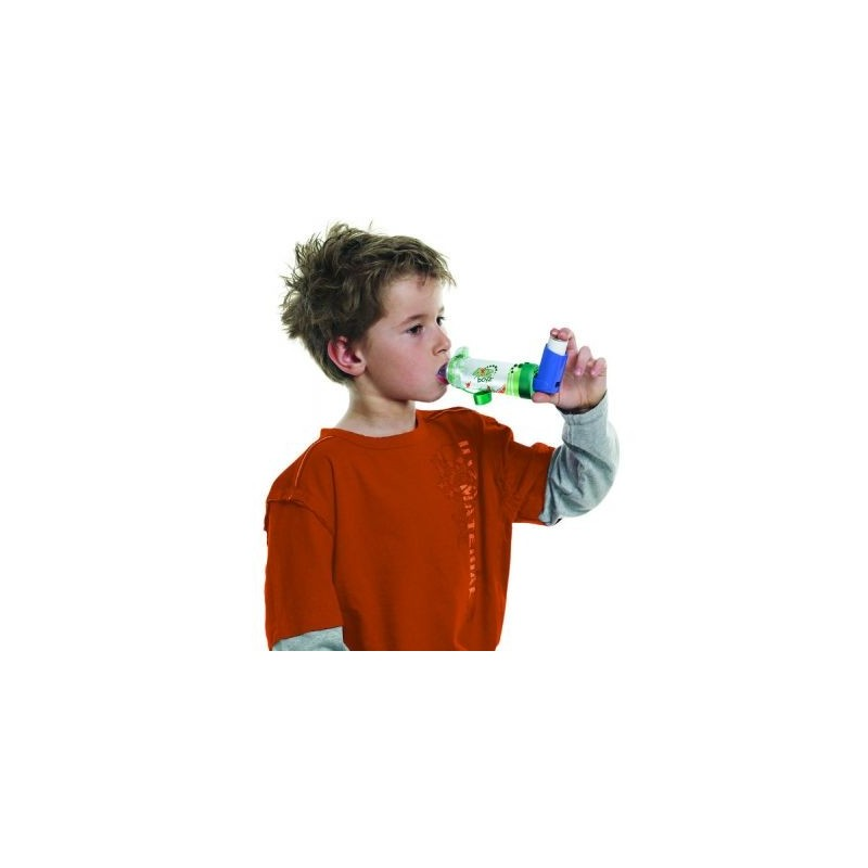 Αεροθάλαμος Aerochamber Plus με επιστόμιο Boyz -Αεροθάλαμοι εισπνοών Aerochamber