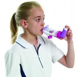 Αεροθάλαμος Aerochamber Plus με επιστόμιο Girlz -Αεροθάλαμοι εισπνοών Aerochamber