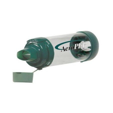 Αεροθάλαμος Aerochamber με βαλβίδα VHC AeroPEP Plus -Αεροθάλαμοι εισπνοών Aerochamber