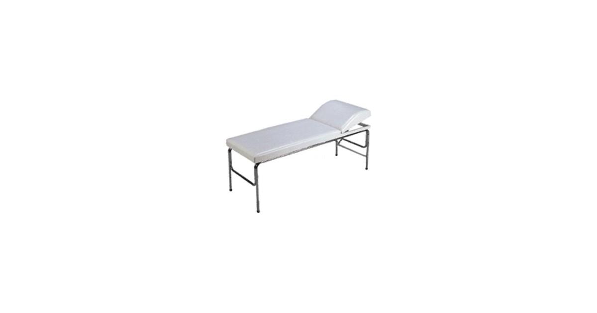 Εξεταστικό κρεβάτι με πομπέ προσκέφαλο -Εξεταστικά κρεβάτια