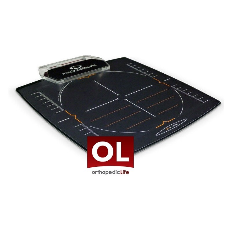 Πελματογράφος T- PLATE -Συσκευές λεμφοιδήματος - Πελματογράφος -Προπλάσματα