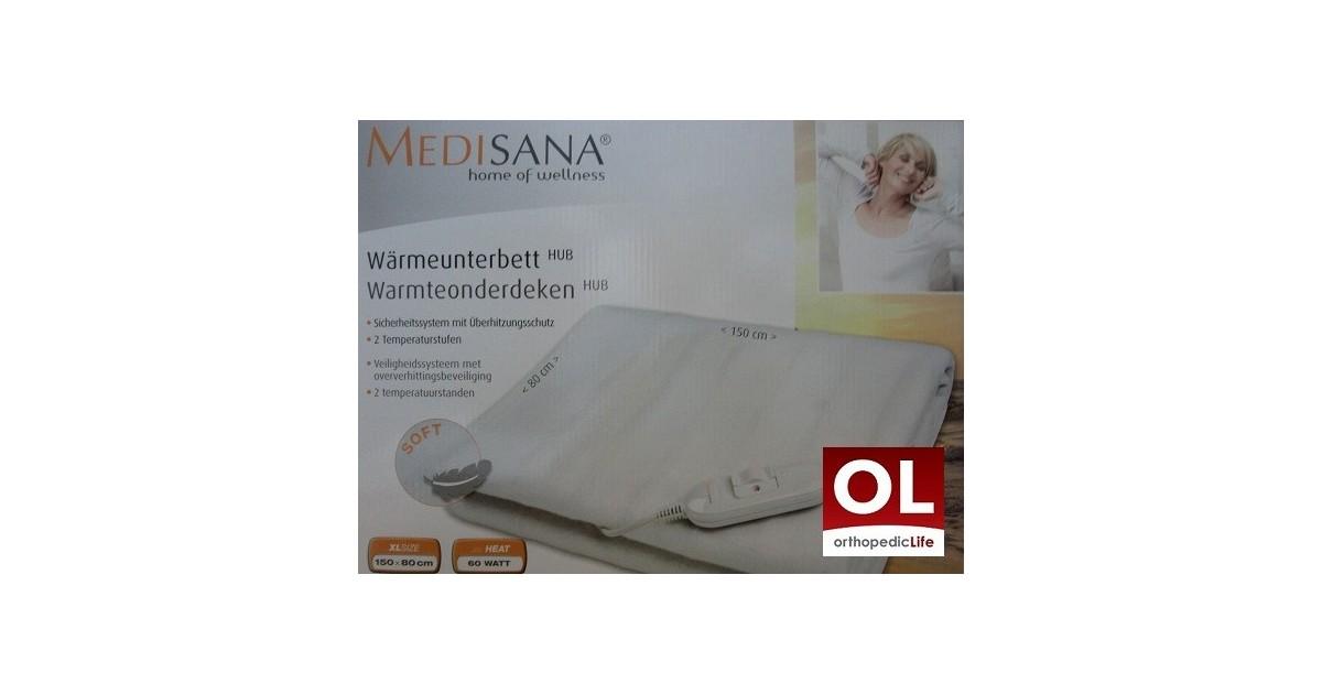 Ηλεκτρικη κουβέρτα μονή Hub medisana -Ηλεκτρικές κουβέρτες