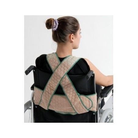 Ζώνη ασφαλείας - γιλέκο αναπηρικού αμαξιδίου -Βοηθήματα αμαξιδίων