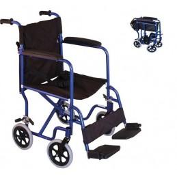 Αμαξίδιο μεταφοράς και φρένα συνοδού -Αναπηρικά αμαξίδια ενηλίκων απλού τύπου