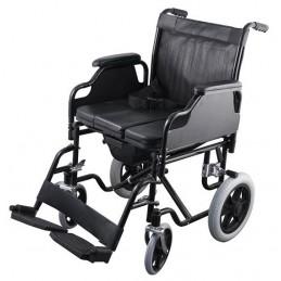 Αναπηρικό αμαξίδιο με τουαλέτα -Αναπηρικά αμαξίδια ενηλίκων απλού τύπου