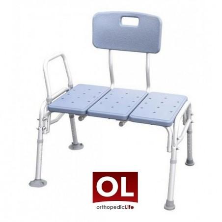 Καρέκλα μεταφοράς μπανιέρας βαρέως τύπου