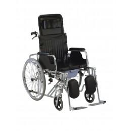 Αναπηρικό αμαξίδιο αλουμινίου με ανακλινόμενη πλάτη ol 59 -Αναπηρικά αμαξίδια ενηλίκων απλού τύπου
