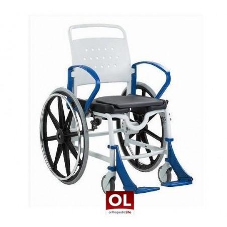 Αναπηρικό αμαξίδιο μπάνιου με εργονομικό κάθισμα Rebotec Genf