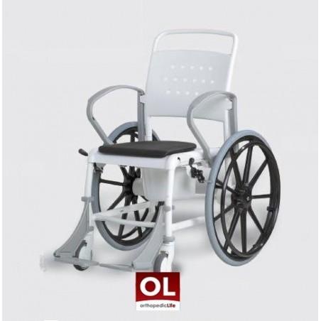 Αναπηρικό αμαξίδιο μπάνιου με δοχείο Rebotec Munchen