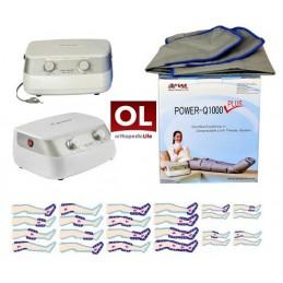 Συσκευή Λεμφικού Μασάζ Ni-051 Power Q1000 plus -Συσκευές λεμφοιδήματος - Πελματογράφος -Προπλάσματα