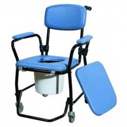 """Καρέκλα τροχήλατη τουαλέτα """"Deluxe"""" -Βοηθήματα"""