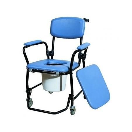 """Καρέκλα τροχήλατη τουαλέτα """"Deluxe"""""""