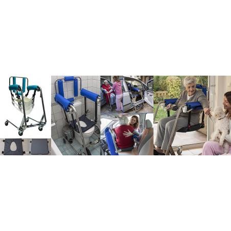 Ειδική τροχήλατη καρέκλα Body Up Evolution -Γερανοί ανύψωσης ασθενών