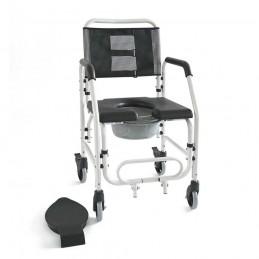 Καρέκλα μπάνιου αδιάβροχη τροχήλατη -Αμαξίδια τουαλέτας-μπάνιου