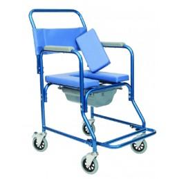 Αναπηρικό αμαξίδιο μπάνιου με δοχείο. -Αμαξίδια τουαλέτας-μπάνιου