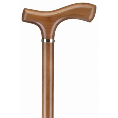 Μπαστούνι ξύλινο με ίσια λαβή -Μπαστούνια