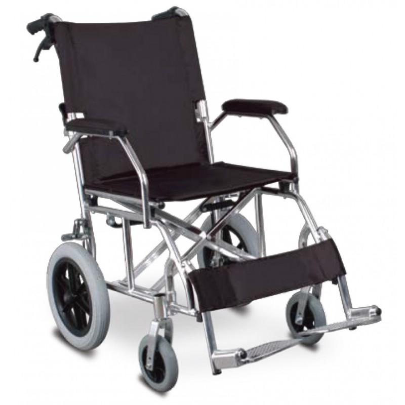 Αμαξίδιο αλουμινίου για μεταφορά -Αναπηρικά αμαξίδια ενηλίκων απλού τύπου