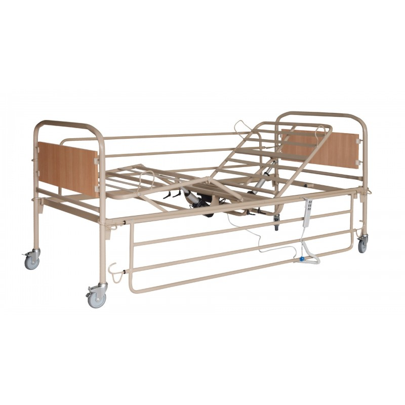 Κρεβάτι ημιηλεκτρικό μεταλλικό -Χειροκίνητα και ηλεκτρικά κρεβάτια