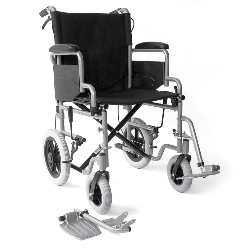 Αμαξίδιο μεταφοράς με φρένα στις χειρολαβές -Αναπηρικά αμαξίδια ενηλίκων απλού τύπου