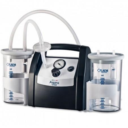 Συσκευή αναρρόφησης aspira plus 20lt -Cpap - Bpap - Συσκευές αναρρόφησης