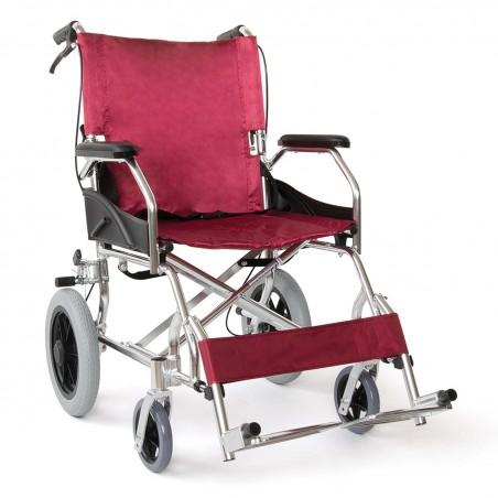 Αναπηρικό αμαξίδιο μεταφοράς αλουμινίου. -Αναπηρικά αμαξίδια ενηλίκων απλού τύπου