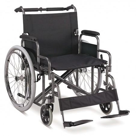 Αναπηρικό αμαξίδιο πτυσσόμενο βαρέως τύπου έως 140 κιλά -Αναπηρικά αμαξίδια ενηλίκων απλού τύπου