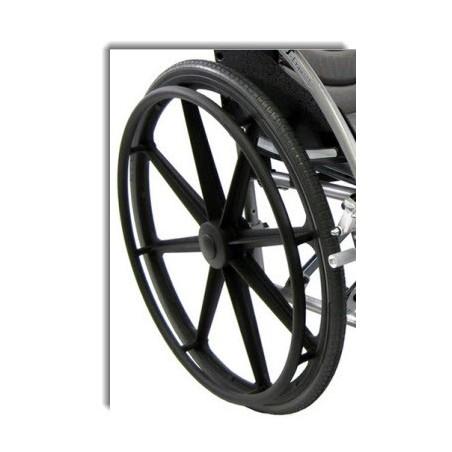 Οπίσθιος τροχός αμαξιδίου με πλαστική ζάντα φουσκωτός -Ανταλλακτικά Αμαξιδίων