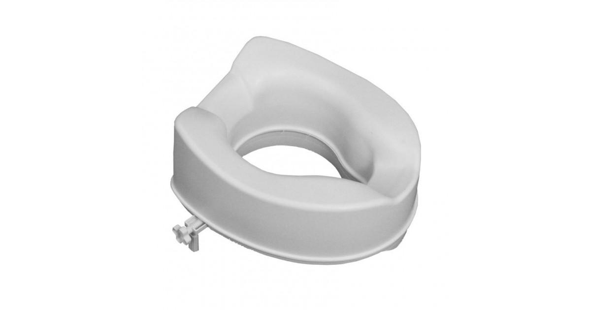 Ανυψωτικό τουαλέτας με πλαινούς σφιχτήρες -Μπάνιου