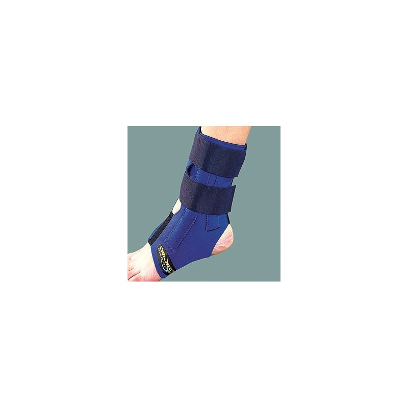 Επιστραγαλίδα Neoprene με πλάγιες μπανέλλες object -Ποδοκνημική