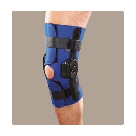 Νάρθηκας γόνατος neoprene με πολυκεντρική ρύθμιση activum regular