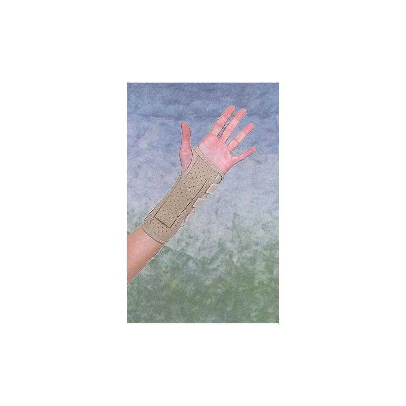 Νάρθηκας καρπού-αντιβραχίου δερμάτινος (22 εκ.) -Καρπός
