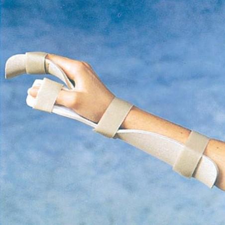 Πλαστικός νάρθηκας ανάπαυσης άκρα χειρός