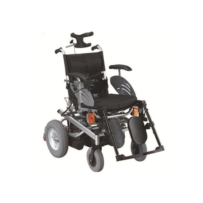 Ηλεκτροκίνητο αναπηρικό αμαξίδιο με προσκέφαλο AC 71b -Ηλεκτρικά αμαξίδια