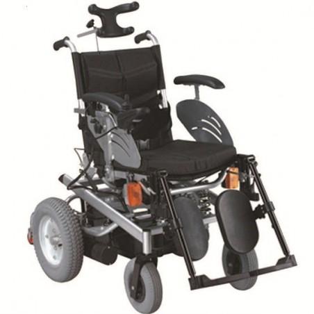 Ηλεκτροκίνητο αναπηρικό αμαξίδιο με προσκέφαλο ol 71b