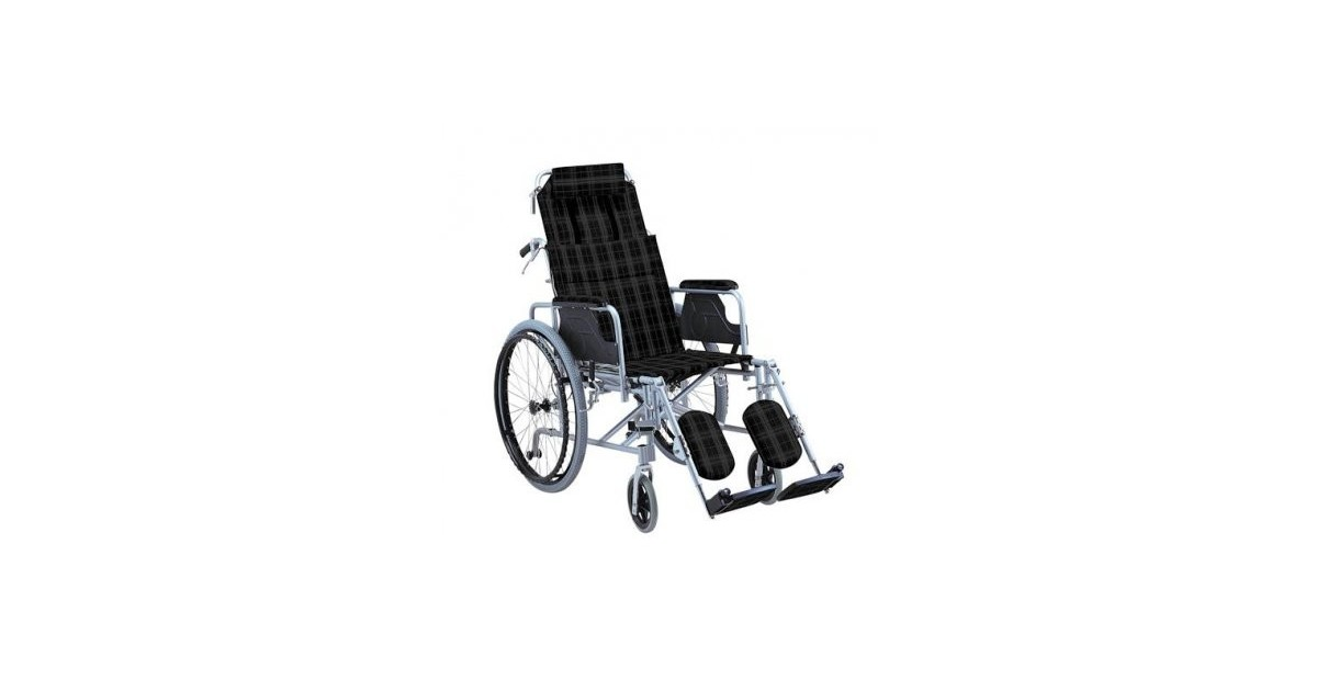 Aναπηρικό αμαξίδιο αλουμινίου με ανακλινόμενη πλάτη  -Αναπηρικά αμαξίδια ενηλίκων απλού τύπου